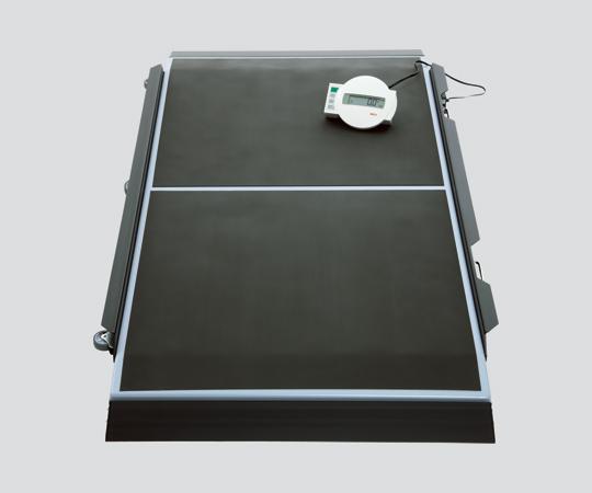 【送料無料/代引不可】デジタル車椅子・ストレッチャー用スケール(検定付) seca657 本体 893×1655×87mm