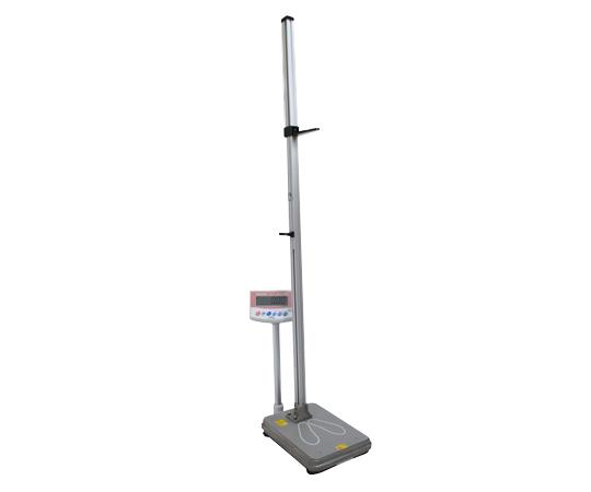 【送料無料/代引不可】手動式身長計付体重計(検定付) IOH-1Mプリンタ付き 600~2000mm 50g~150kg