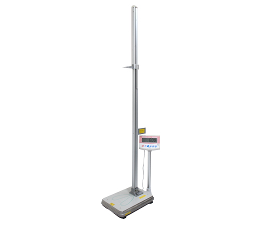 【送料無料/代引不可】手動式身長計付体重計(検定付) IOH-2D 800~2000mm 50g~150kg