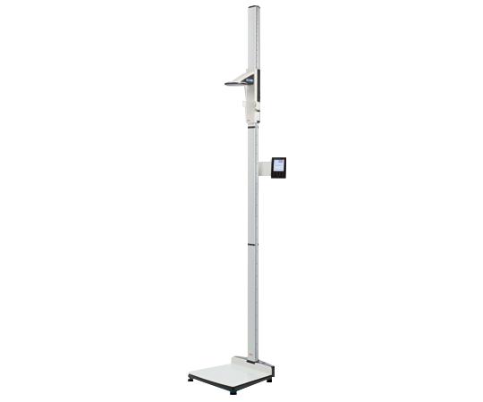 【送料無料/代引不可】デジタル身長計付体重計(検定付) HBP-SECA-285S  本体+通信用USB 幅440×奥行470×高さ2400mmタッチパネルディスプレイに身長・体重・BMIを同時表示