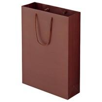 マットコート手提袋 L ギフト ブラウン 10枚入 ORMB-L-BR 611-1182 メーカー在庫限り品