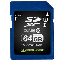 GH-SDXCUA64G SDXCメモリーカード UHS-I クラス10 64GB