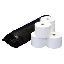 感熱レジロール紙 高保存タイプ 紙幅58×外径80×芯内径12mm 紙厚75μ 巻き長63m 5巻×16パック SR5880HGT 923-0583