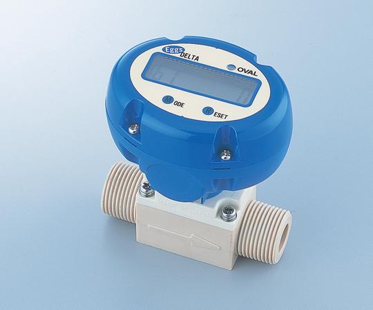渦式フローモニター (液体用)  流量範囲1.1~15(l/min)  FLM20-10PCW  1-6236-02