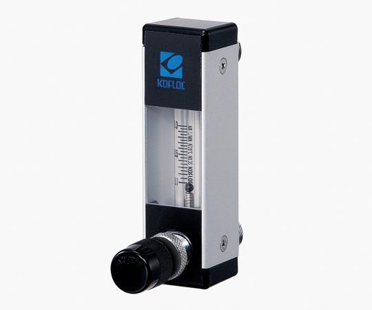 パージ流量計 (ニードルバルブ付き)  全長124(mm) 対象ガス窒素  最大流量10(l/min)  RK1650-12N10  1-8527-16