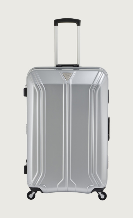 アジア・ラゲージ GRAVID-ZEROイケかる マットシルバー スーツケース(58L/2~3泊) ALI-3561