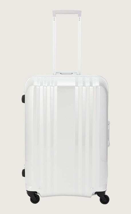 アジア・ラゲージ デカかる  ホワイトカーボン スーツケース(78L/4~7泊) MM-5588