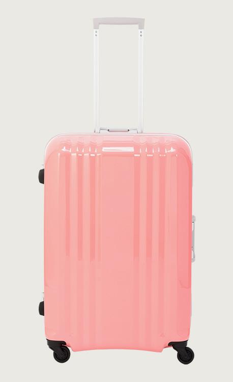 アジア・ラゲージ デカかる S-ピンク スーツケース(90L/4~7泊) MM-5688