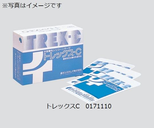 非固着性シリコーンガーゼ(トレックスC) 0171120 トレックスC No.2 サイズ(mm):100×70 1箱(100枚入)