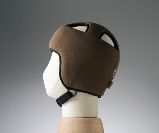 保護帽 (アボネットガードB)  2077 Lサイズ ブラウン  8-6510-03