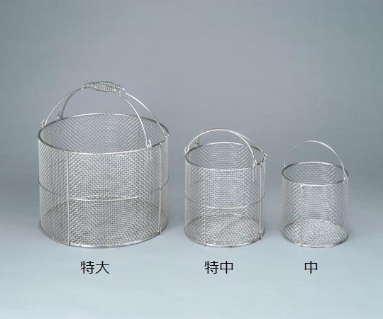 最大P20倍~6/11(木)1:59 ステンレス洗浄カゴ 丸型 大