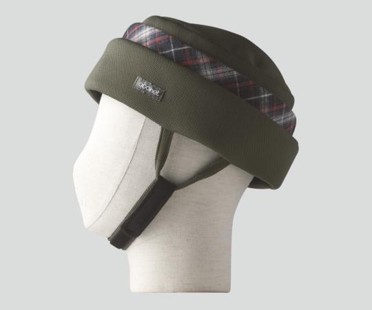 保護帽  (アボネットガードF)  2101 M-L オリーブ  8-6560-01