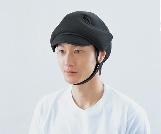 保護帽  (アボネットガードメッシュD)  2033 普通サイズ ブラック  8-9348-01