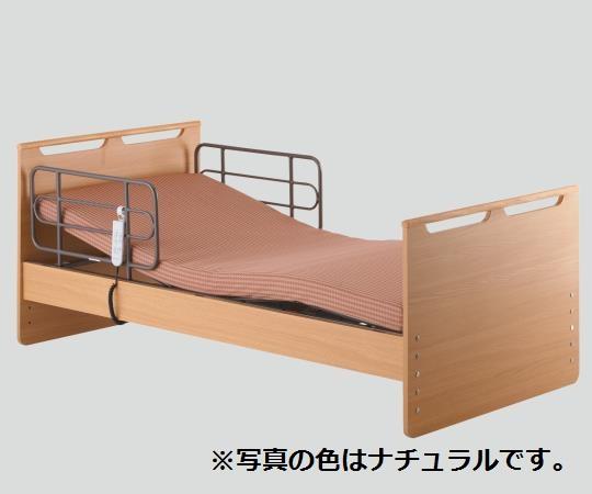 自立支援ベッド(穂高) HBS-MY1 フラット ナチュラル/ブラウン/ダークブラウン ベッド・マットレス
