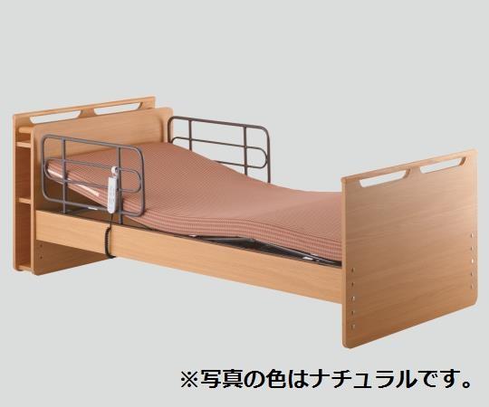 自立支援ベッド(穂高) HBS-MY1 宮付 ナチュラル/ブラウン/ダークブラウン ベッド・マットレス