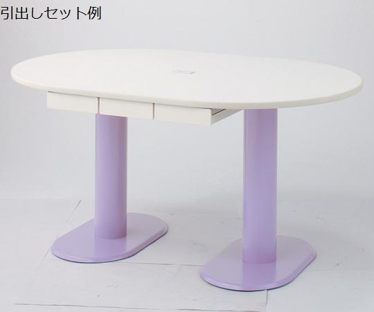 ナーステーブル(2本脚)足元の空間をすっきりと M-1812L 1800×1200×740mm