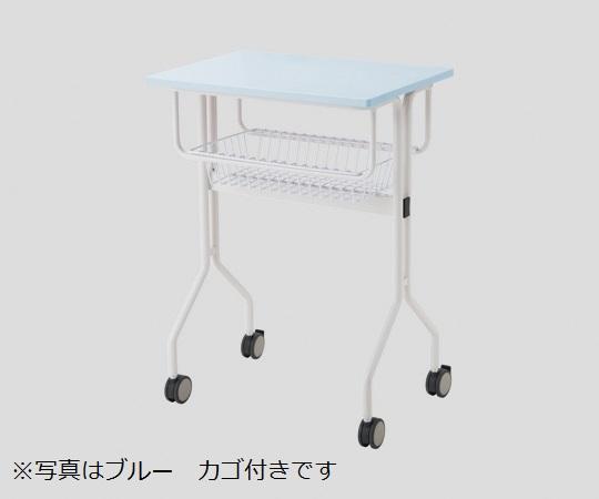 ワークテーブル TT-NS20M ブルー カゴ付き 645×445×900mm