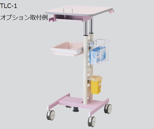 ナースカート(Florence/フローレンス) TLC-1 500×650×900~1100mm 信頼の抗菌ハンドルと抗菌天板仕様!ナーステーブルにカンチもできます