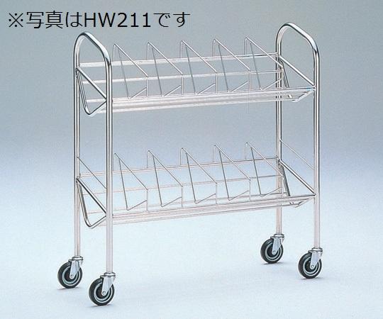 カルテワゴン HW201 670×310×1000mm 12.5kg