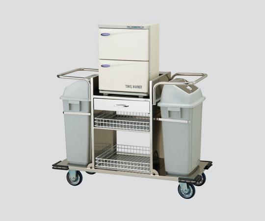 清拭オムツ交換車 TSS-40-J16 2 18×2段(おしぼり約130~160本)