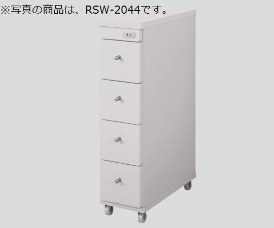 隙間ワゴン(コンセント付き) RSW-1544 150×440×800mm 9.5kg 【代引き不可】