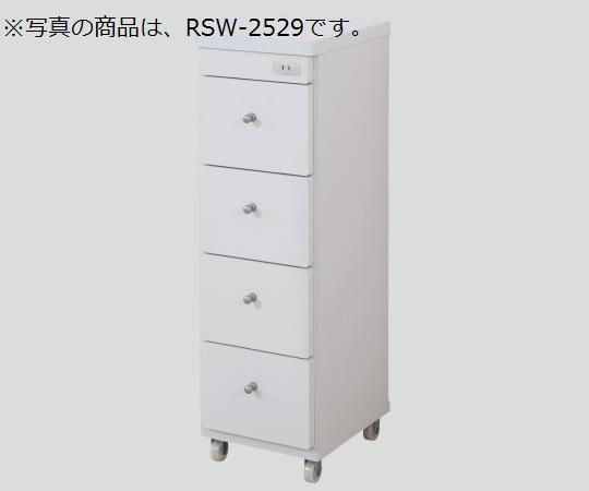 隙間ワゴン(コンセント付き) RSW-2544 250×440×800mm 11.5kg 【代引き不可】