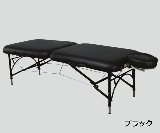 【送料無料/代引不可】折りたたみベッド 700×1820×520~660(mm) ブラック/ティール Q28