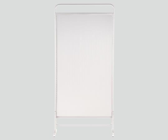 【送料無料/代引不可】衝立スクリーン(エレガント) 一連 クリア/クリアブルー/クリアグリーン 700×400×1520(mm)