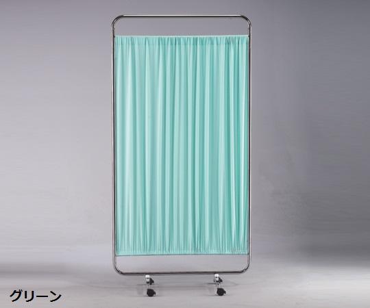 【送料無料/代引不可】衝立 一連 900×415×1780(mm) グリーン/クリーム/ピンク/ホワイト/ブルー