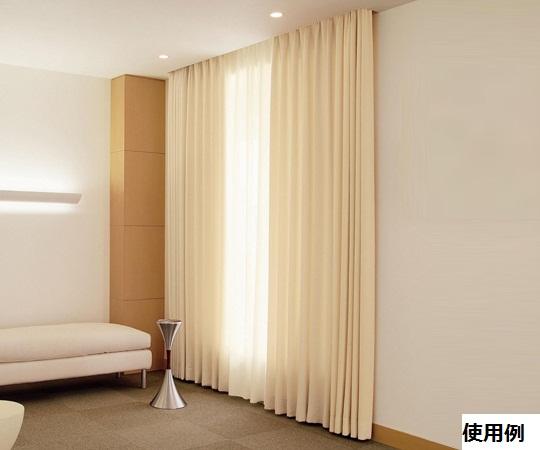 【送料無料/代引不可】窓用カーテン 2000×2400(mm) 全6色
