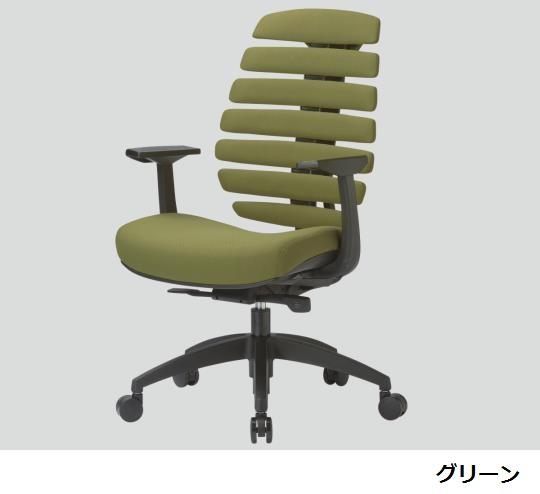 【送料無料/代引不可】オフィスチェア ブルー/グリーン/レッド/ブラウン/ブラック 650×630×975~1065(mm) MS-1415 (F14)