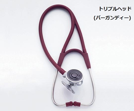 ハーベーDLX聴診器 トリプルヘッド ブラック/バーガンディ/ネイビー/フォレストグリーン