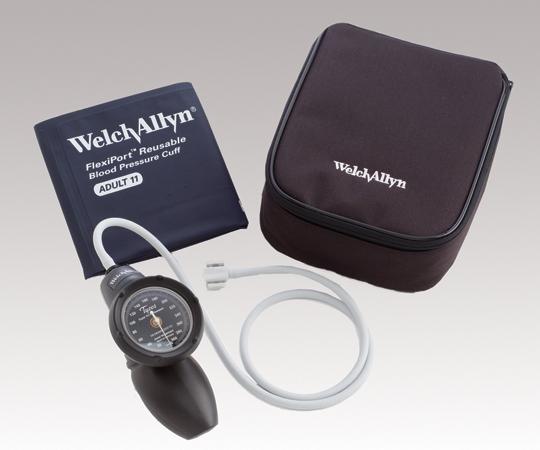 アネロイド血圧計(デュラショック・ハンド型) 成人用(中)カフ付き DS58-11