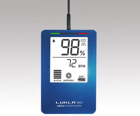 パルスオキシメーター(LUKLA)メモリ・アラーム付き LKL2800ma ブルー