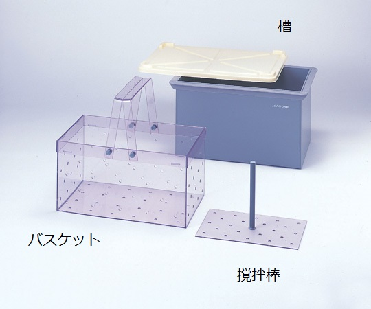 角型洗浄槽 K-1型 槽 4-040-01