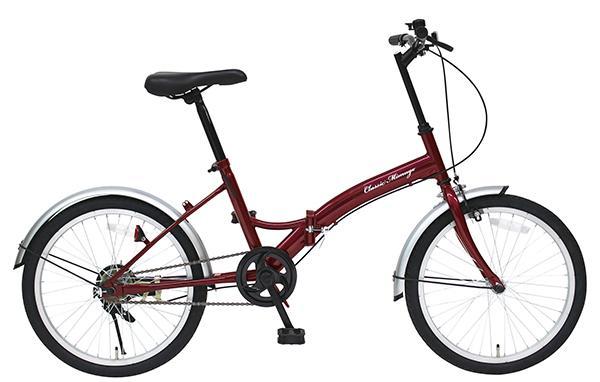 【代引き不可】 MG-CM20E Classic Mimugo MG-CM20E/20インチ折畳自転車