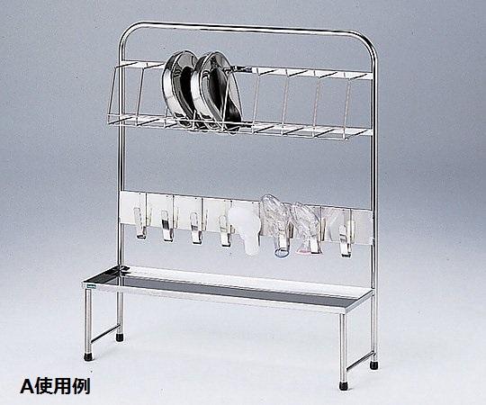 【送料無料/代引不可】便尿器架台 A 1160×370×1240(mm)便尿器架台のスタンダードタイプ