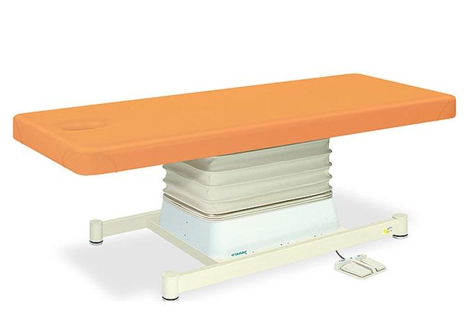 【送料無料/代引き不可】高田ベッド 18色のカラーとサイズが選べるマッサージベッド  有孔垂直電動Sタイプ TB-491U  病院/クリニック