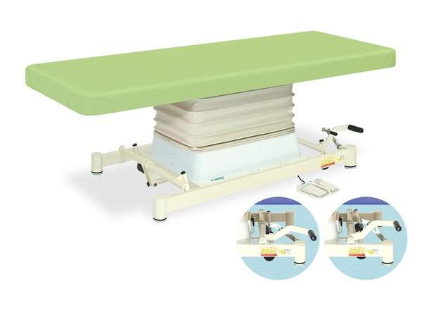 【法人限定販売】高田ベッド 18色のカラーとサイズが選べるマッサージベッド  垂直電動SPタイプ TB-730  病院/クリニック【代引不可】