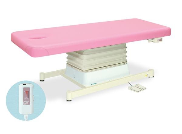 【送料無料/代引き不可】高田ベッド 18色のカラーとサイズが選べるマッサージベッド  有孔垂直電動SHタイプ TB-546U  病院/クリニック