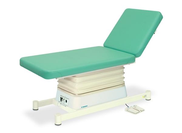 【法人限定販売】高田ベッド 18色のカラーとサイズが選べるマッサージベッド  垂直電動Lタイプ TB-550  病院/クリニック【代引不可】