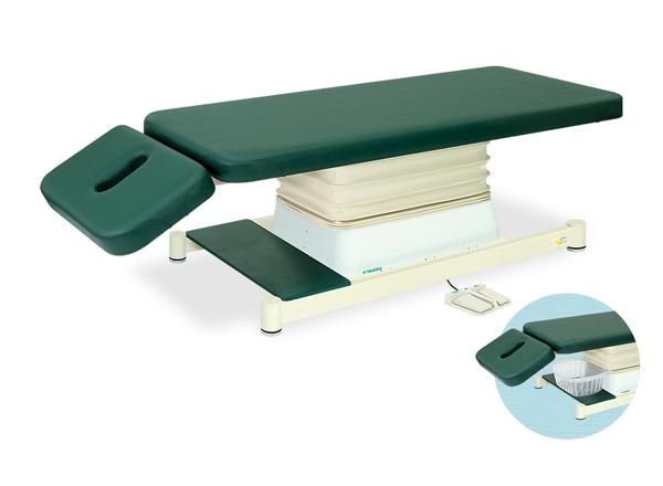 【法人限定販売】高田ベッド 18色のカラーとサイズが選べるマッサージベッド  垂直電動Aタイプ TB-539  病院/クリニック【代引不可】