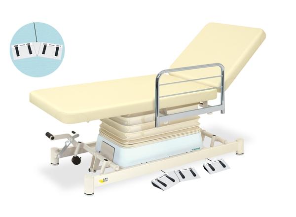 【法人限定販売】高田ベッド 18色のカラーとサイズが選べるマッサージベッド  垂直電動2EZタイプ TB-869  病院/クリニック【代引不可】