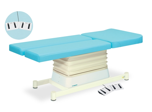 【法人限定販売】高田ベッド 18色のカラーとサイズが選べるマッサージベッド  垂直電動EBタイプ TB-893  病院/クリニック【代引不可】