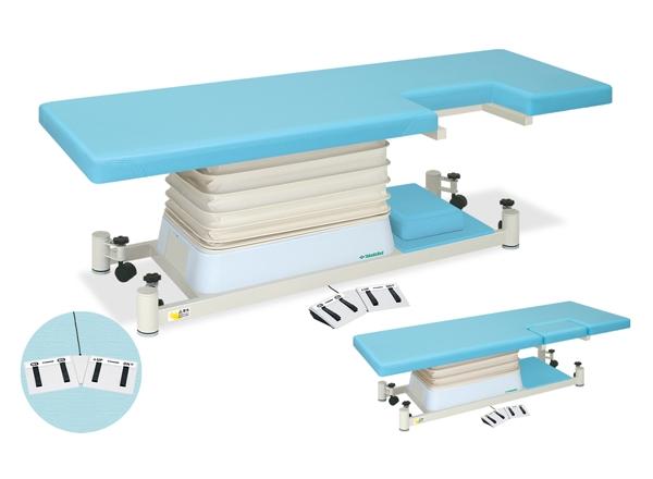 【法人限定販売】高田ベッド 18色のカラーとサイズが選べるマッサージベッド  垂直電動MQタイプ TB-1195  病院/クリニック【代引不可】