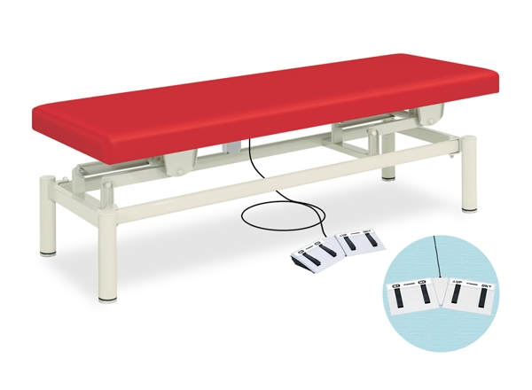 【送料無料/代引き不可】高田ベッド 18色のカラーとサイズが選べるマッサージベッド  電動EXベッド TB-763  病院/クリニック