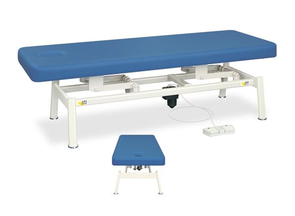 【法人限定販売】高田ベッド 18色のカラーとサイズが選べるマッサージベッド  有孔電動LSベッド TB-1321U  病院/クリニック【代引不可】