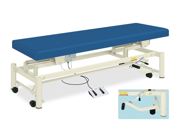 【法人限定販売】高田ベッド 18色のカラーとサイズが選べるマッサージベッド  電動ステップキャリー TB-997  病院/クリニック【代引不可】
