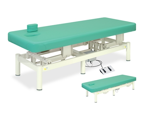 【送料無料/代引き不可】高田ベッド 18色のカラーとサイズが選べるマッサージベッド  電動アスリート TB-666  病院/クリニック