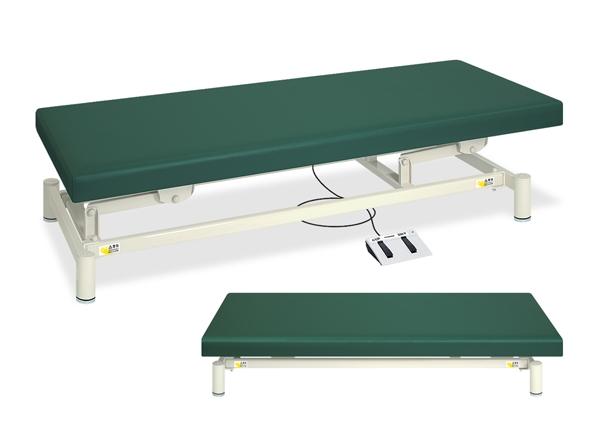 【法人限定販売】高田ベッド 18色のカラーとサイズが選べるマッサージベッド  低床電動ハイロー TB-1151  病院/クリニック【代引不可】